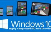 Windows 10 ISO Highly Compressed (10MB)